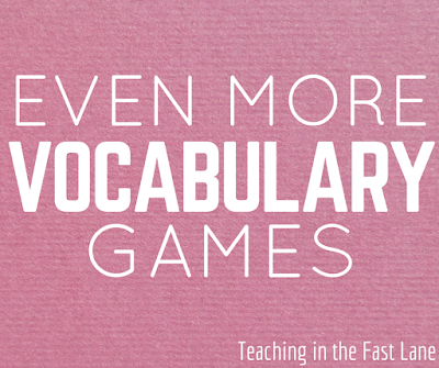 The next installment of my students' FAVORITE word wall games!