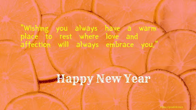 Greetings Card for Happy new year