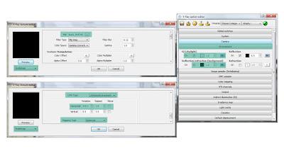 V-ray option: HDRI settings