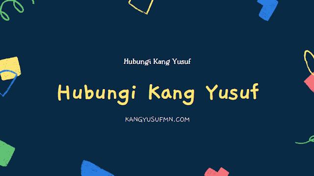Hubungi Kang Yusuf