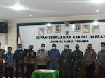 Melalui Paripurna, DPRD Padang Pariaman Tetapkan Suhatri Bur - Rahmang Bupati/Wakil Bupati Terpilih