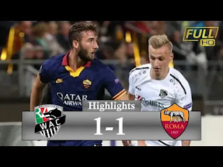 Wolfsburg Vs Roma 1-1 All Goals And Match Highlights [MP4 & HD VIDEO]