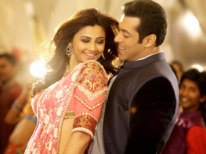 Daisy Shah and Salman Khan in Jai Ho movie song