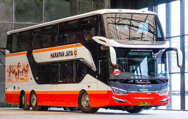 harapan jaya all new legacy sr 2 double decker laksana