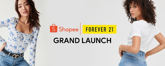 Forever 21 is now on Shopee!