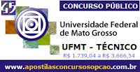 Apostila UFMT (MT) concurso mato Grosso, Auxiliar em Administração