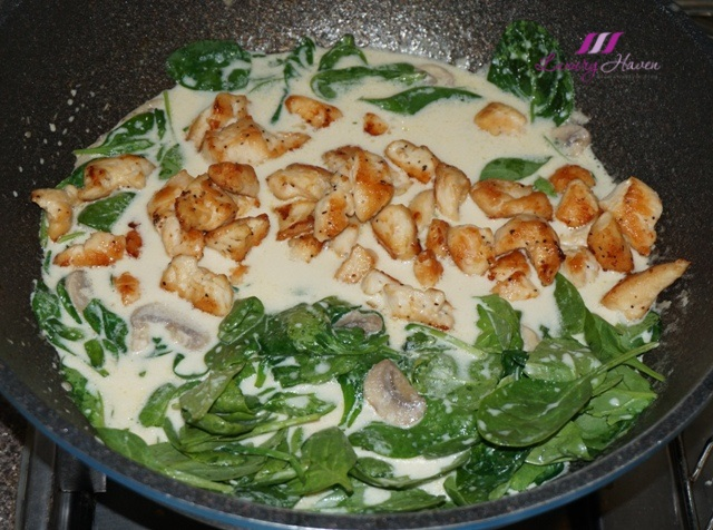 foglia sublime baby spinach pan fried chicken recipe