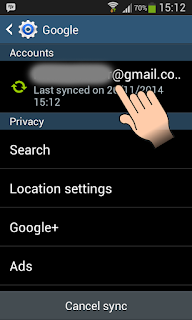 Cara Logout Akun Gmail di Aplikasi Android