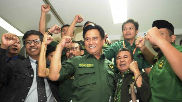 Bila Yusril Dukung Jokowi, Alumni PA 212 Mundur Nyaleg dari PBB