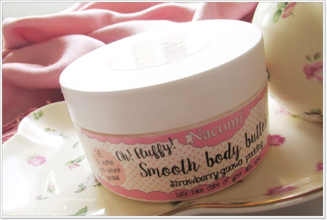 Smooth Body Butter Strawberry-Guawa Pudding.