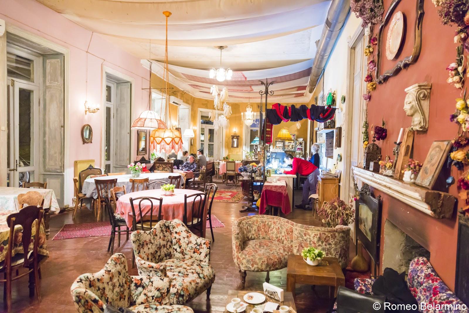 Purpur Gudiashvili Garden Tbilisi Restaurants Georgia