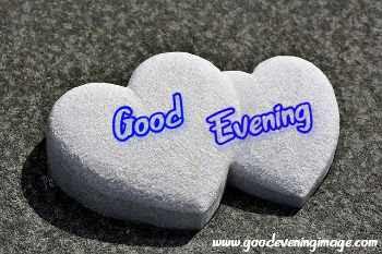 Good Evening beautiful heart images