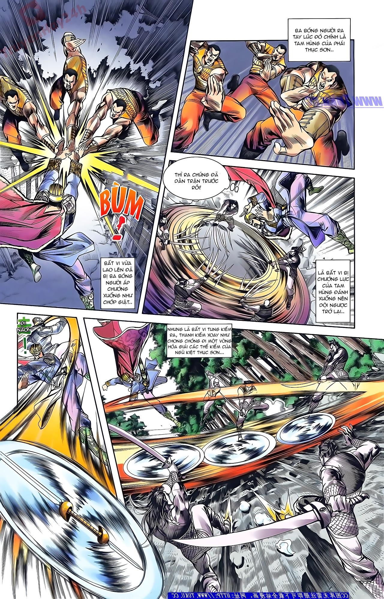 Tần Vương Doanh Chính chapter 45 trang 18