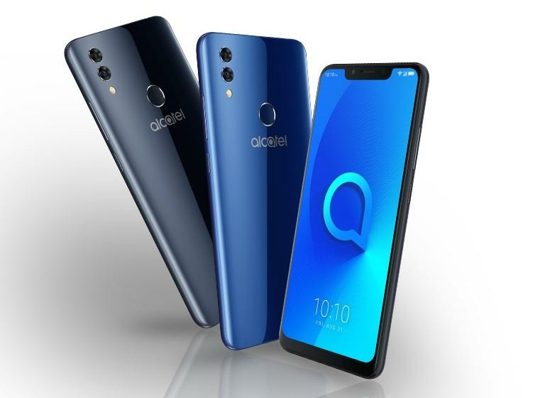 Alcatel 5V unveiled with a Notched Screen and Dual Rear Camera