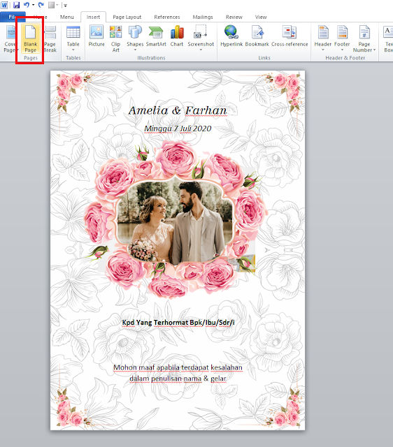 Free File : Download Template Desain Undangan Pernikahan ...