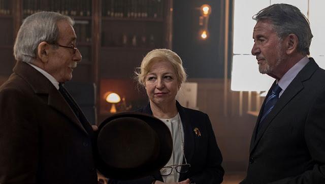 Manolo Cal es Benito Perez Galdos en 'Antes de que no haya tiempo' precuela de la cuarta temporada de 'El Ministerio del tiempo'