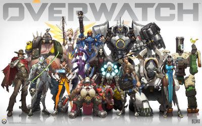 Overwatch Tous les Personnages - Fond d'écran en Quad HD 1440p