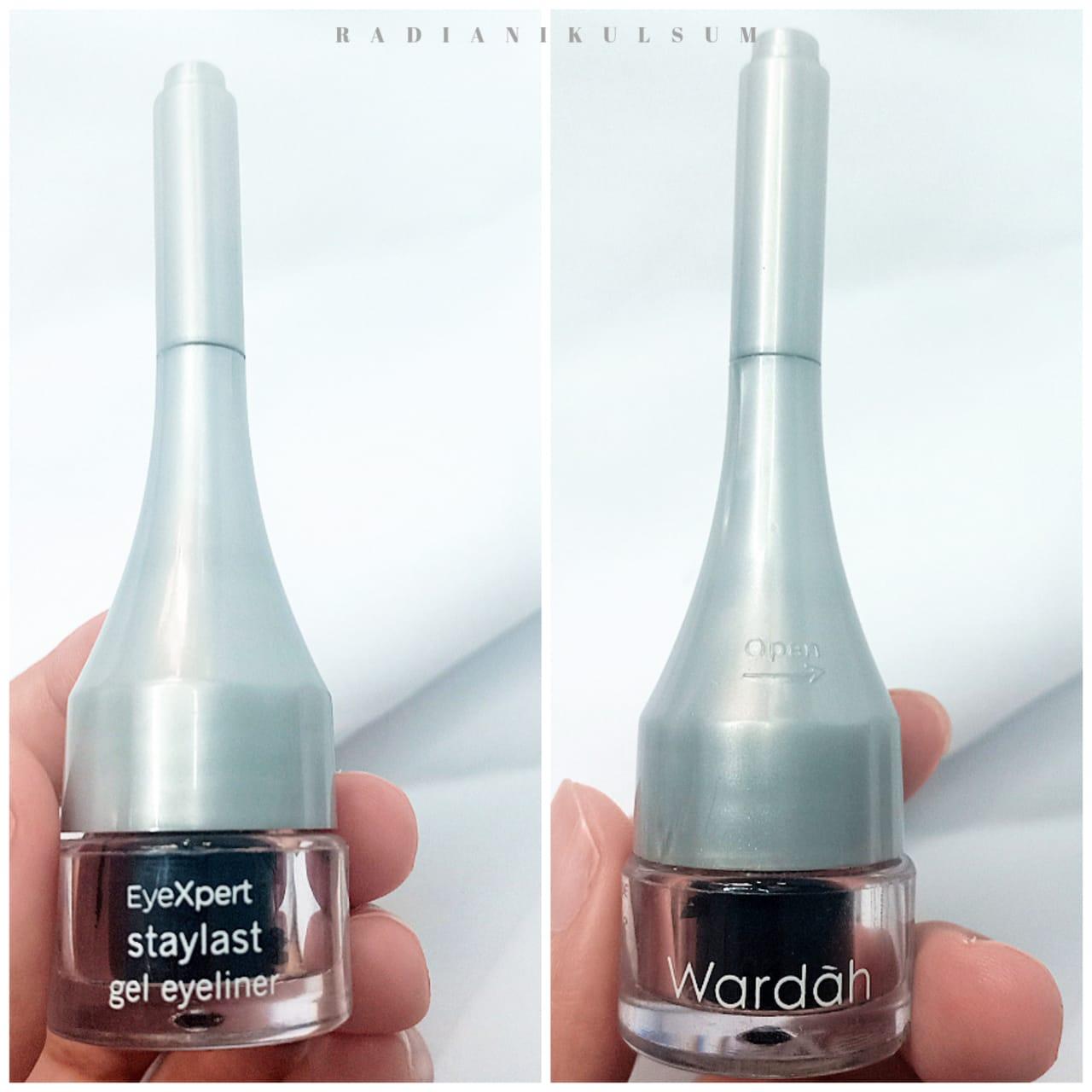 Kemasan Wardah Eyexpert Staylast Gel Eyeliner