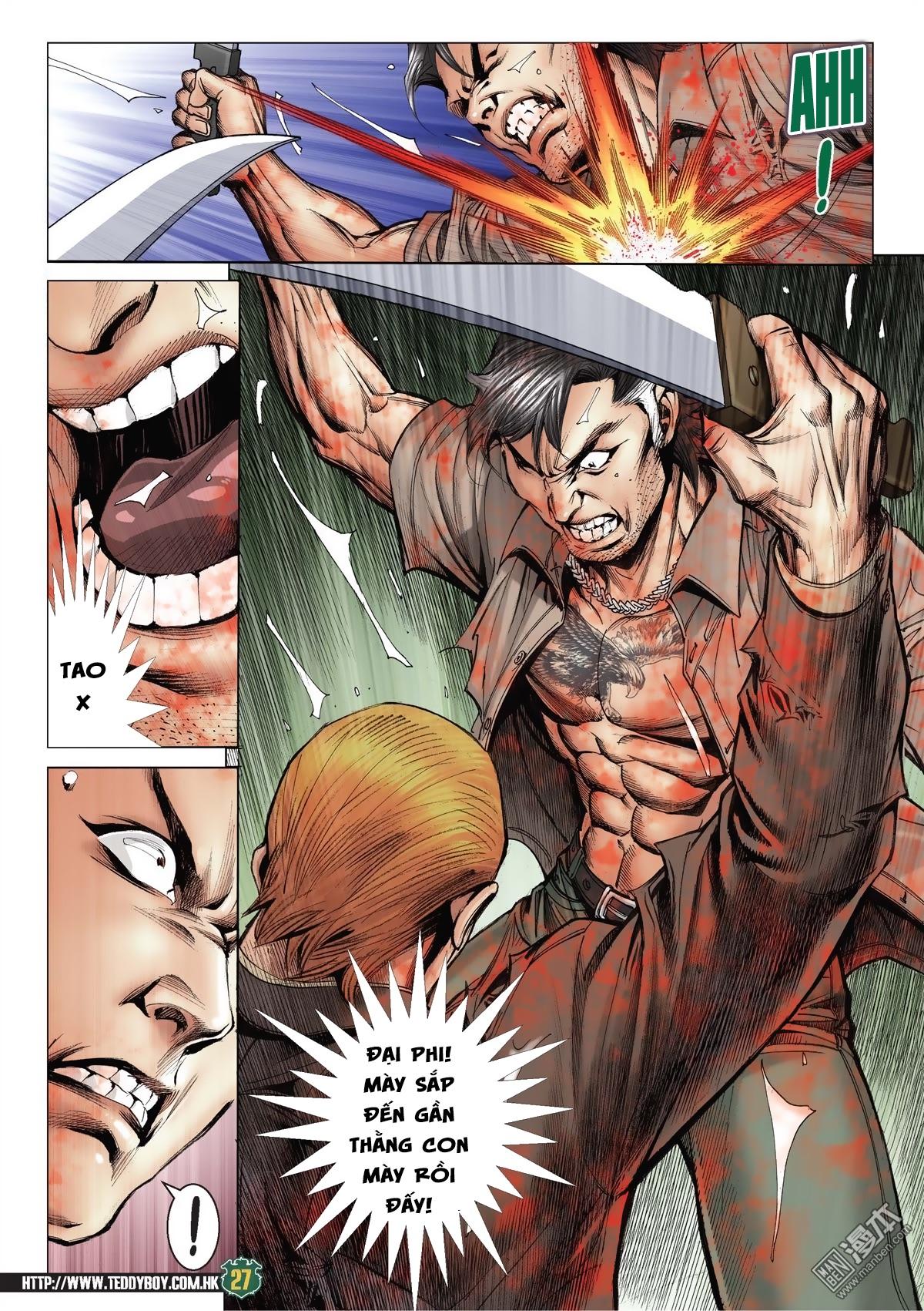 Người Trong Giang Hồ chapter 2033: kim tôn quý vs đại phi trang 24