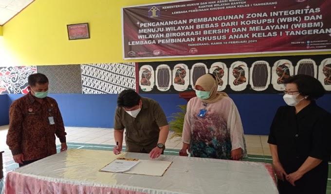 PBH Peradi Lakukan Penandatanganan Kerjasama dengan LPKA Tangerang