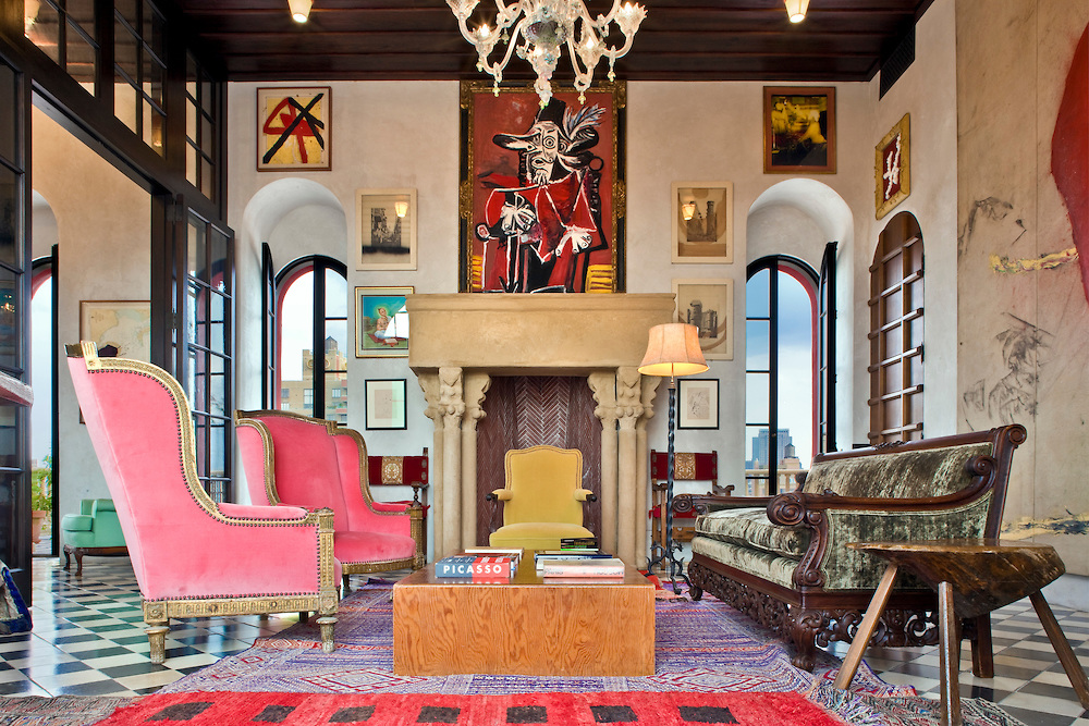 decor inspiration home of julian schnabel palazzo chupi