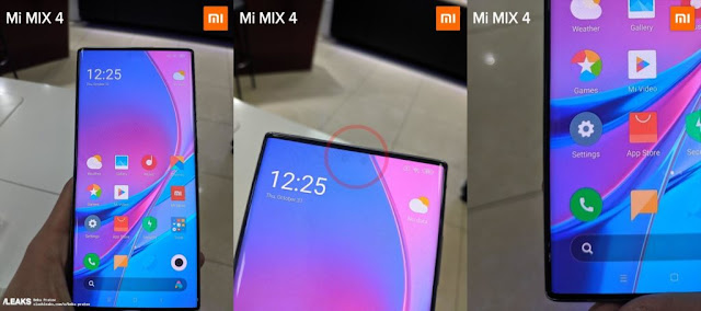 THIS IS HOW XIAOMI PLANS TO HIDE THE MI MIX 4 CAMERA UNDER THE SCREEN