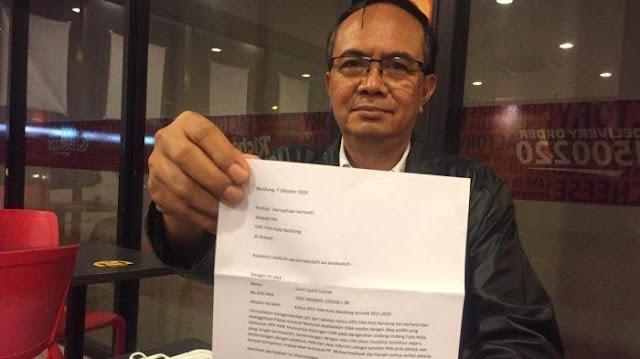 Kecewa PAN Dukung UU Cipta Kerja, Ketua DPD PAN Kota Bandung Mundur dan Keluar dari Partai