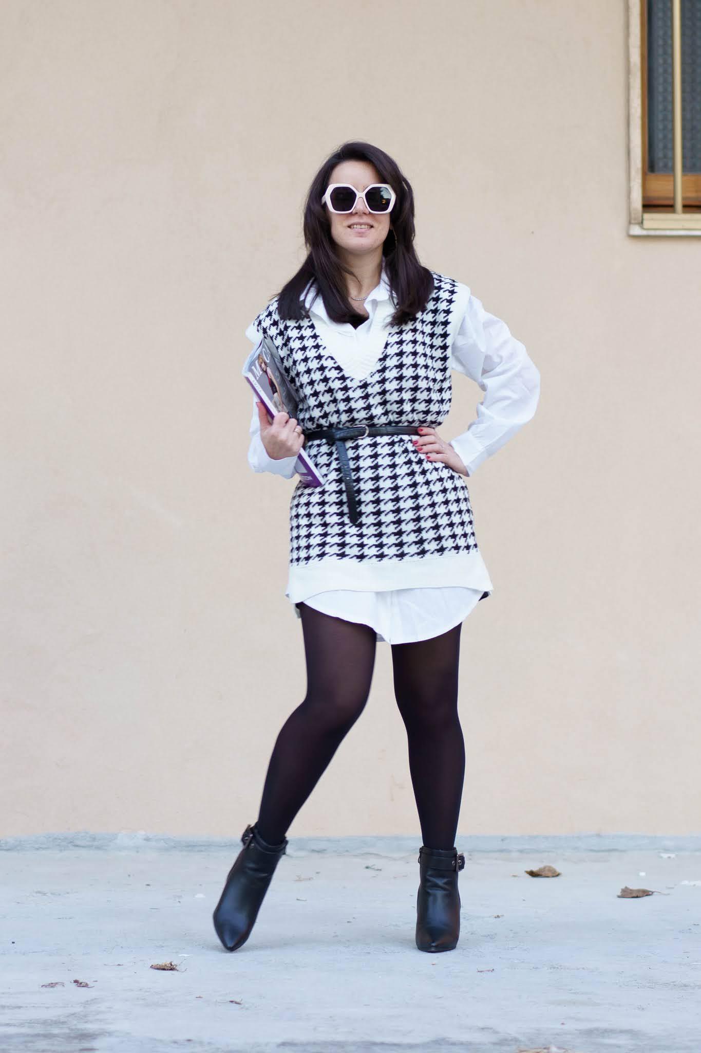 jumper dress e una long shirt Femme Luxe