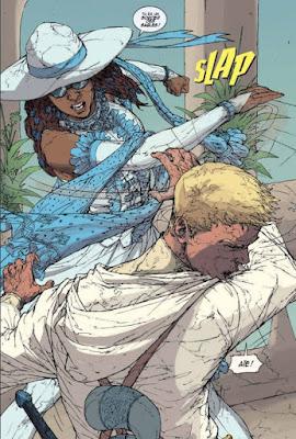 White Sand tome 2 - lorsque Kriss découvre l'identité de Kenton