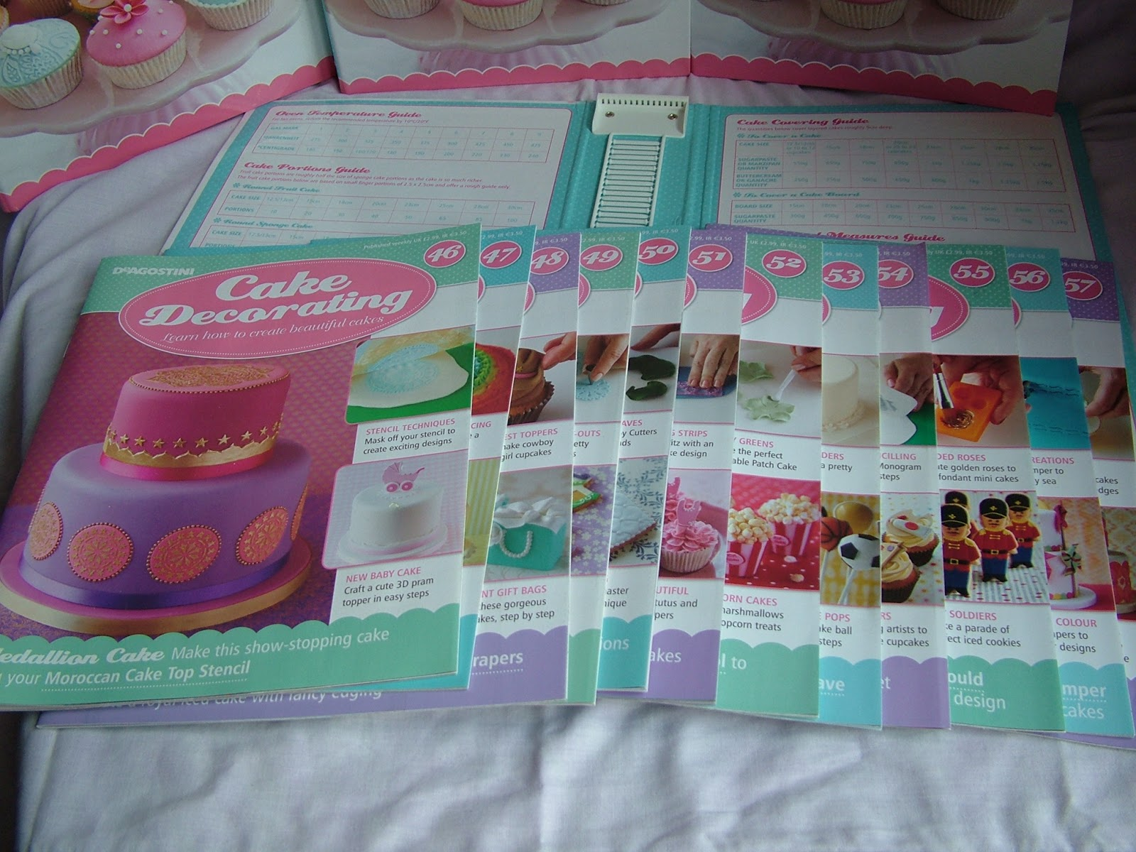 Cakes and Bakes by Kate  Review   Cake Decorating Magazine Each magazine contains a cake decorating tool and is packed with recipes   tips and step by step guides to making beautiful cakes and cupcakes