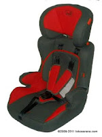 2 Junior Foldable Baby Car Seat