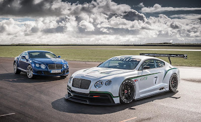 2013 bentley continental GT speed and continental GT3 concept photos 1280x782