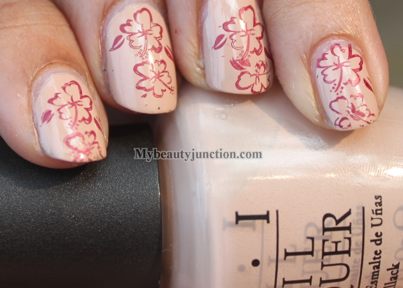 Stamping Nail Art Tutorial Ii With Konad Image Plate And Opi