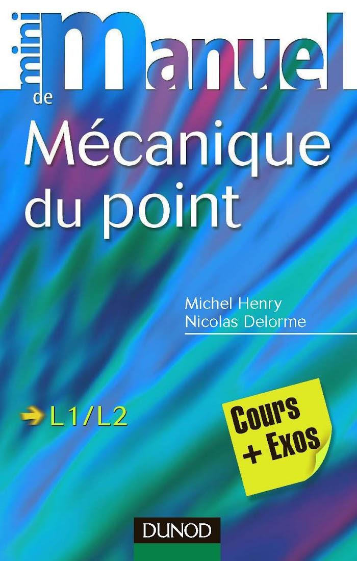 Livre Mini Manuel de Mécanique du point PDF