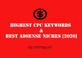 Kata kunci CPC Tertinggi Dan Niches Adsense Terbaik [2020] Part 1