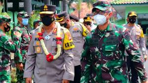 Awal Tugas : Kapolda Banten silaturahmi ke Danrem