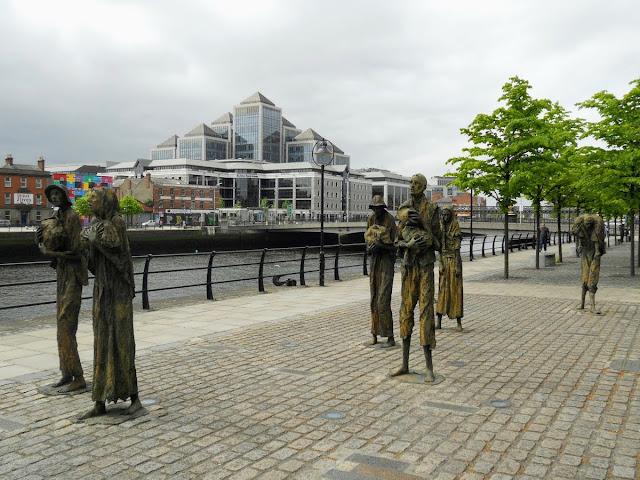 Best free things to do in Dublin: Famine Memorial