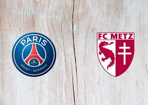 PSG vs Metz Full Match & Highlights 16 September 2020