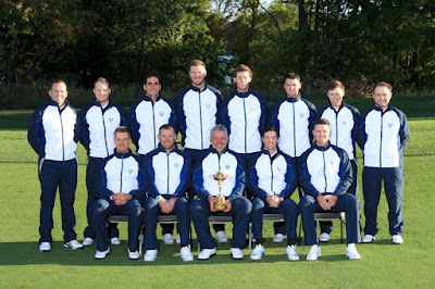 The Ryder Cup, USA v Europe –