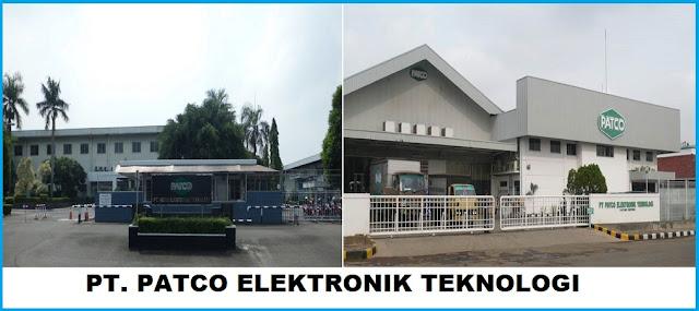 Lowongan Kerja PT. Patco Elektronik Teknologi Dengan Posisi Process Engineer Dan Accounting Supervisor Terbaru 2019