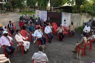 थाना परिसर में शांति समिति की बैठक संपन्न