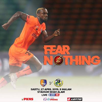Live Streaming PKNS FC vs Kuala Lumpur Liga Super 27.4.2019