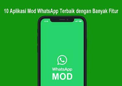 10 Aplikasi Mod WhatsApp Terbaik dengan Banyak Fitur