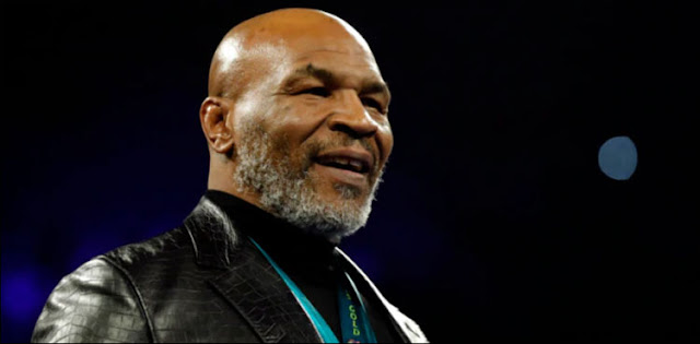 Former world heavyweight champion Mike Tyson has stepped into the ring again