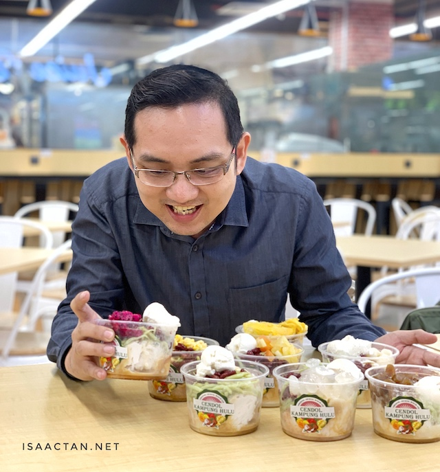 Cendol Kampung Hulu - Now Available At Midvalley Megamall