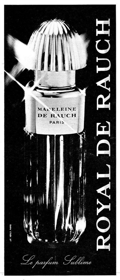 "Ad for Madeleine de Rauch ""Royal de Rauch"" Perfume"