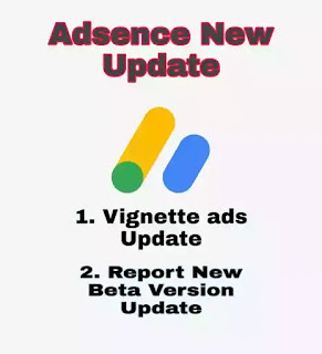 Google Adsense new Update 2020 - Vignette ads and Adsence Report Update