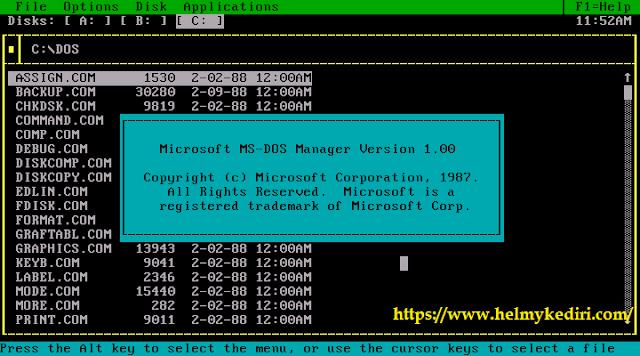 Sistem Operasi MS DOS