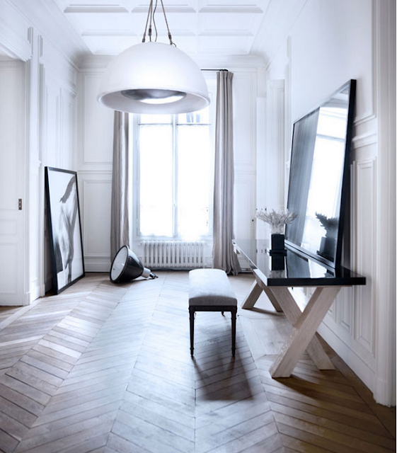 Gilles & Boissier design entry way via belle vivir blog