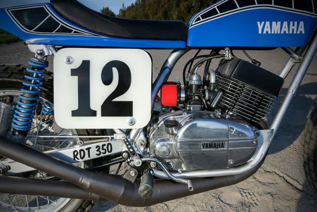 Yamaha RD350 Flat Track của tay đua dirt track từ Úc